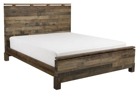 queen bed platform atticus queen platform bed living spaces