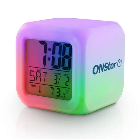 led color changing l promotional color changing led alarm clocks promotion pros
