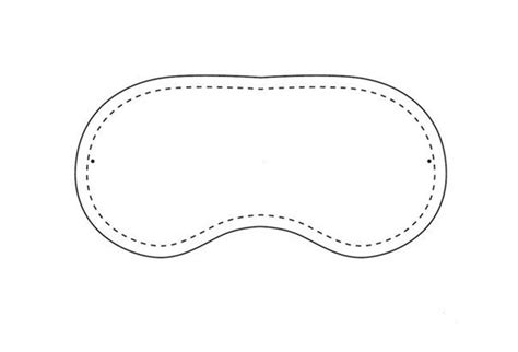 Sleeping Mask Card Template by Sleep Mask Template Invitation Template