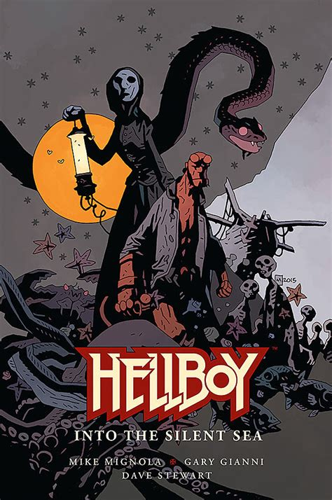 libro hellboy into the silent hellboy into the silent sea graphic novel arrives in 2017