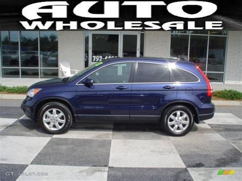 2007 royal blue pearl honda cr v ex l 4wd 17965659