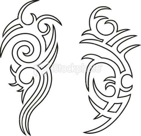Tribal Pattern Outline | tribal tattoo outlines gypsy caravan pinterest
