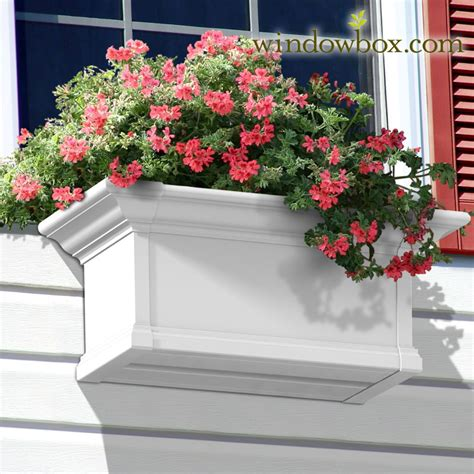Provincial Planters by Provincial Window Kit White Self Watering Window