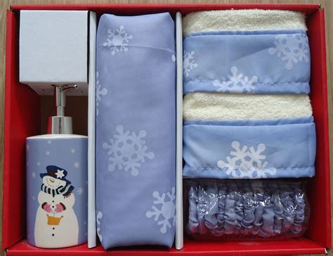 christmas shower curtains and towels christmas 16 pc bath set snowman shower curtain hooks