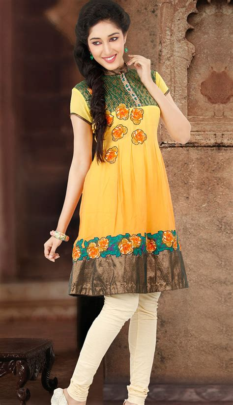 Short and long kurtis collection get a stylish yet sober look