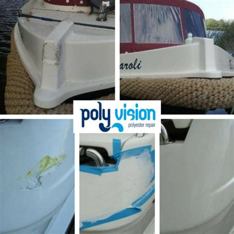 boot reparatie polyester polyester reparatie boot aanvaring