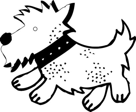 free scottie dogs coloring pages