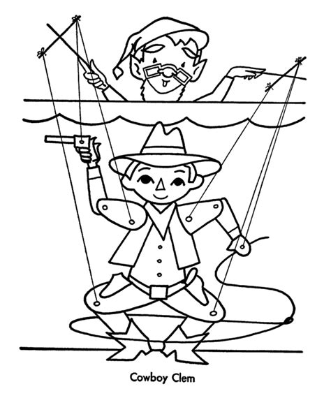Puppet Master Five Nights At Freddys Coloring Pages Puppet Coloring Pages