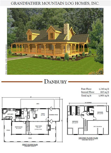 Mountain Cabin Plans grandfather mountain log homes