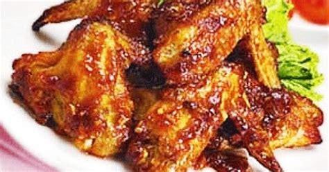 Sayap Pedes Manis 1 resep sayap ayam pedas manis bikin ketagihan