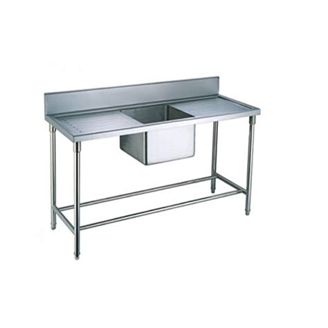 product used restaurant stainless steel kitchen sink with