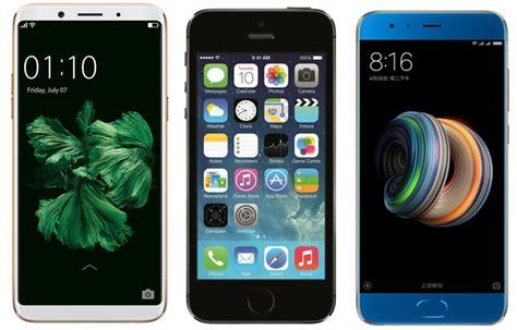 Apple F5 oppo f5 vs apple iphone 5s vs xiaomi mi note 3 price in
