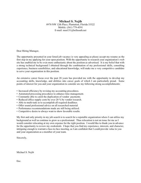 sle cover letter for posting 100 sle cover letter for resume best admission