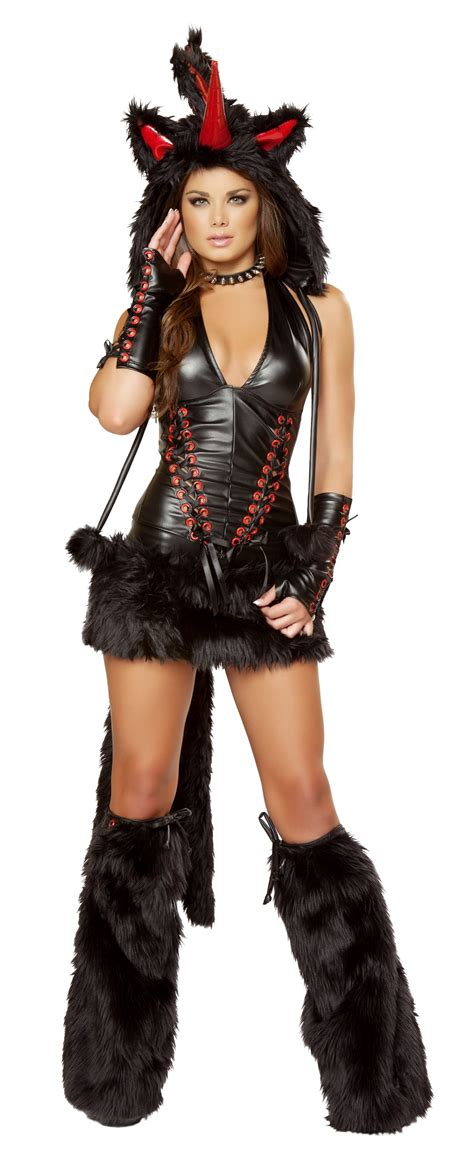 Black Unicorn Costume | black magic unicorn sexy costume nelasportswear women