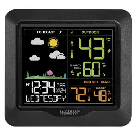 s85814 wireless color forecast station
