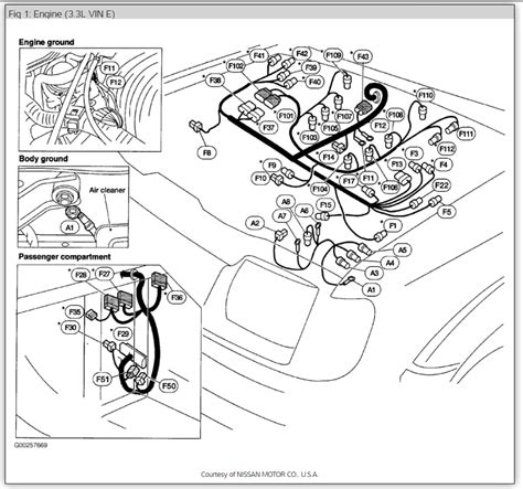 nissan x trail t30 ecu wiring diagram wiring diagram