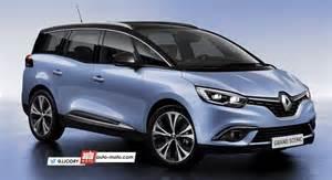 Nouvelle Renault Scenic Scoop Nouveau Renault Grand Scenic 4 7 Places 2017