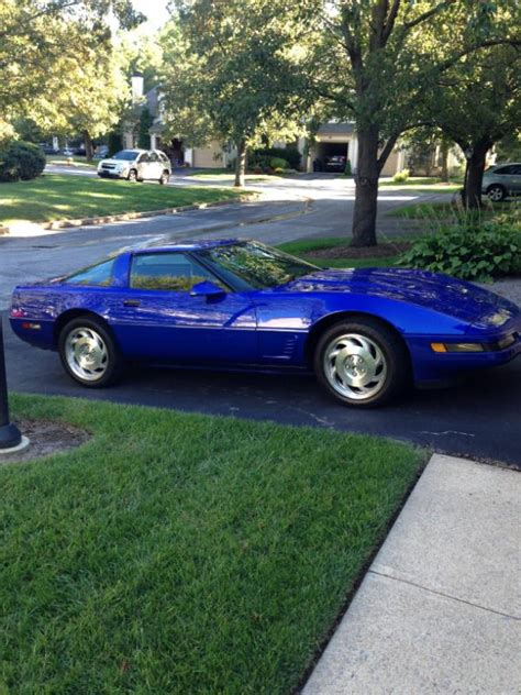 1995 corvette price 1995 corvette admiral blue 45k 12900