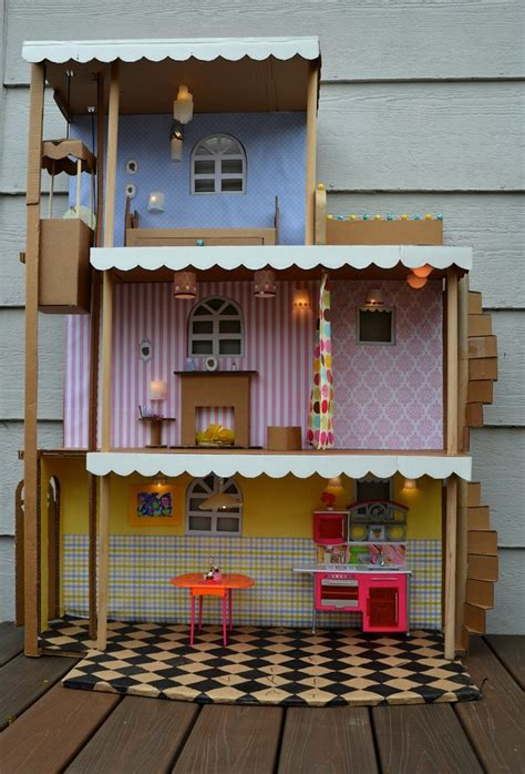 doll house play 25 b 228 sta homemade barbie house id 233 erna p 229 pinterest