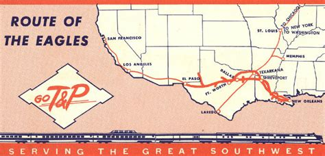 texas eagle route map hawkinsrails net amtrak s texas eagle