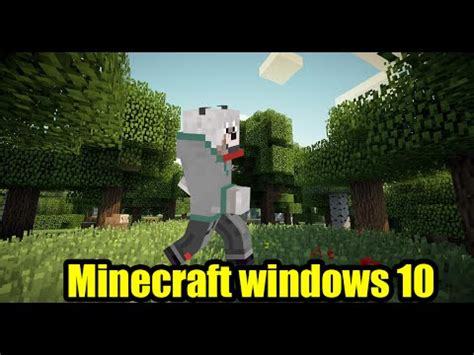 minecraft windows 10 tutorial world minecraft windows 10 1 atd s windows 10 world youtube