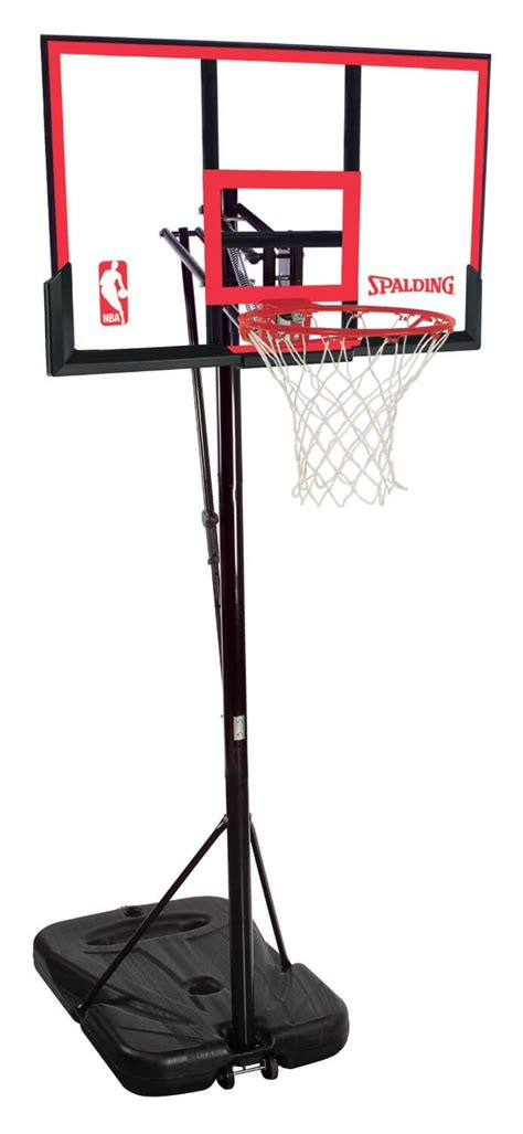 spalding 48 inch portable basketball hoop review