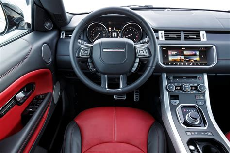 land rover evoque interior image gallery 2017 evoque