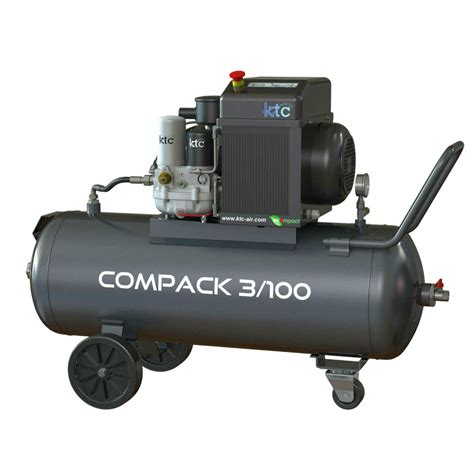 Ktc Portable Air Compressor 3hp 230v Single Phase 10