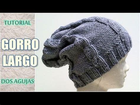 beanie o gorro tejido en crochet doovi cuello tejido a crochet que parece tejido en dos agujas