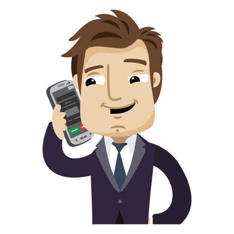 imagenes animadas hombres el hombre de negocios de dibujos animados tel 233 fono celular