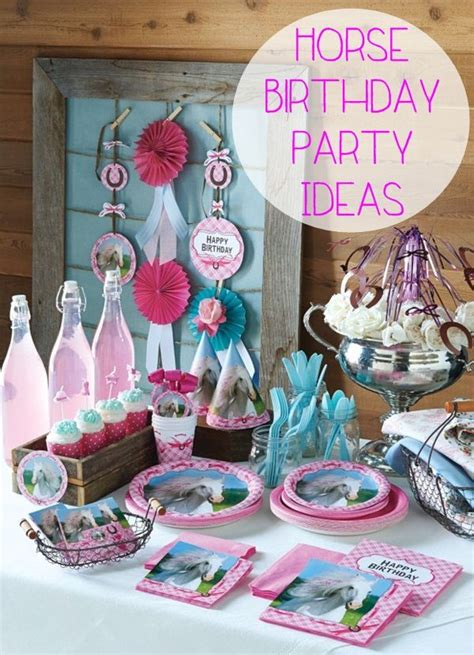 horse themed events 25 best ideas about horse birthday parties on pinterest