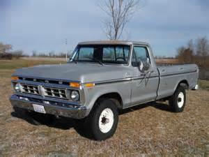 77 Ford Truck 1977 Ford Truck F250 Ranger Cer Special 77 Survivor