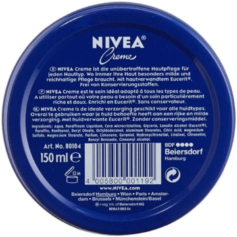 Nivea Creme Review Rozenellapjp nivea creme 150ml pack of 3 health and in the