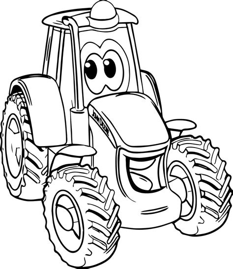 deere tractor coloring page tractor coloring pages advanced modern coloring pages of