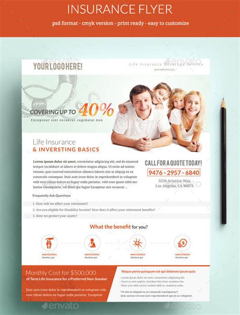 Insurance Flyers Templates Free Premium Templates Insurance Flyer Templates