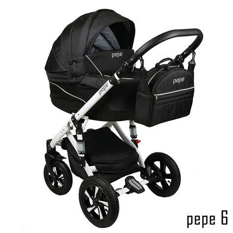 Kinderwagen 3 In 1 3758 by Pepe Kombi Kinderwagen 3 In 1 Babyschale Autositz Buggy