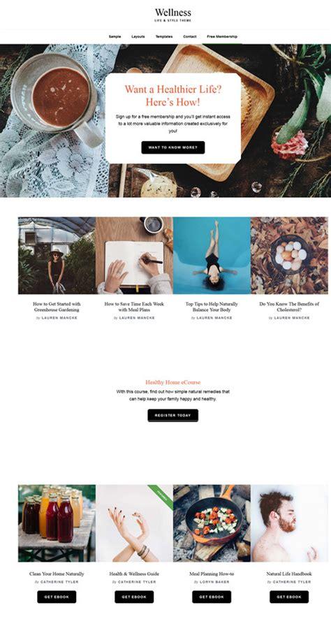 Studiopress Wellness Pro Theme best travel tourism premium themes best