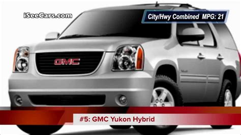 Suv Hybrid Mpg by Suv Hybrids With Best Gas Mileage Best Midsize Suv
