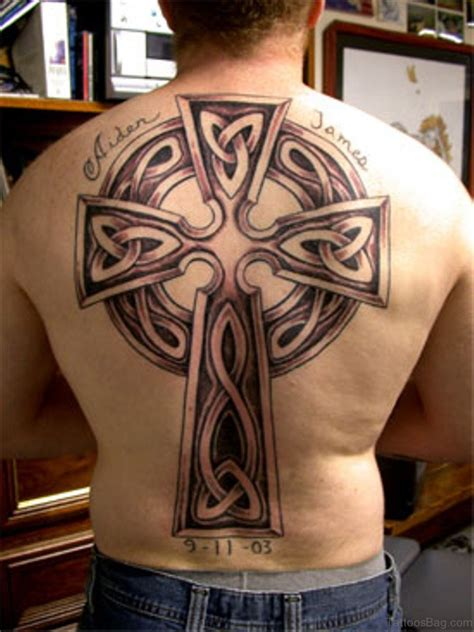 cross tattoos on the back 80 stylish cross tattoos on back