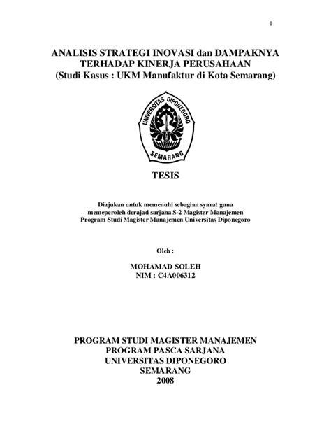 tesis akuntansi ukm tesis agussalim