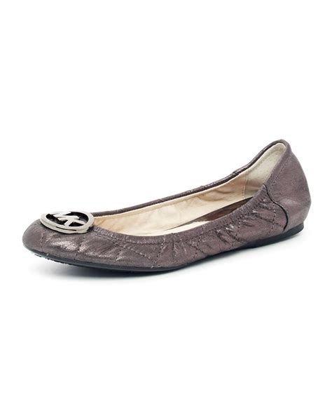 Michael Kors Fulton Quilted Ballet Flats by Michael Michael Kors Fulton Quilted Ballerina Flat In