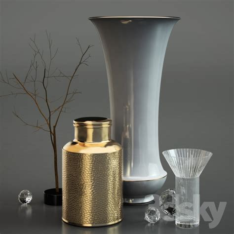 Luxury Vases by 3d Models Vase Luxury Deco Vases