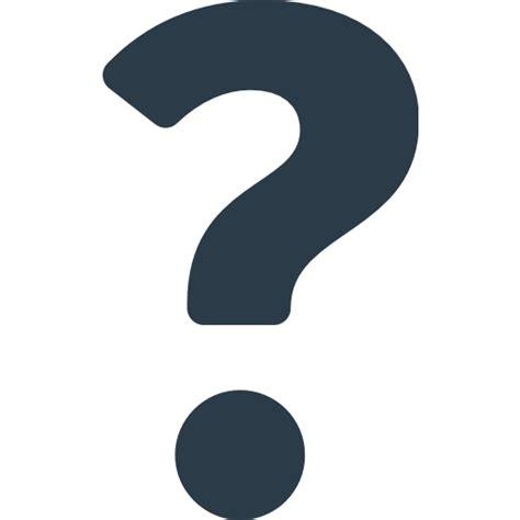 Emoji Question Mark | black question mark ornament emoji for facebook email