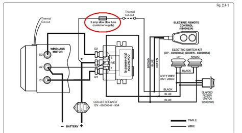 lewmar wiring diagram free wiring diagrams