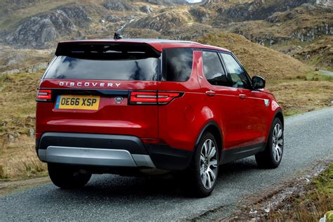 land rover discovery sport 2017 red land rover discovery review automotive blog