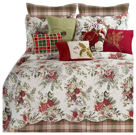 april cornell bedding jardin rouge twin 3 piece quilt set by april cornell