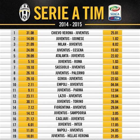 Tutto Juve Calendario Partite Calendario
