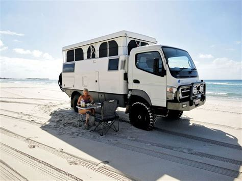 mitsubishi fuso 4x4 expedition vehicle go anywhere with the fuso earth cruiser not your