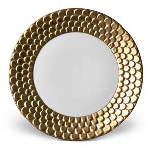 Dining Room Wall Shelves L Objet Aegean Gold Dinner Plate At Amara