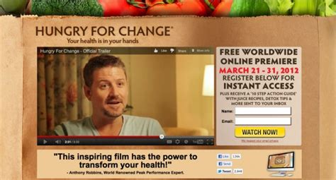 Hungry For Change Documentary Detox by Hungry For Change Reboot With Joe